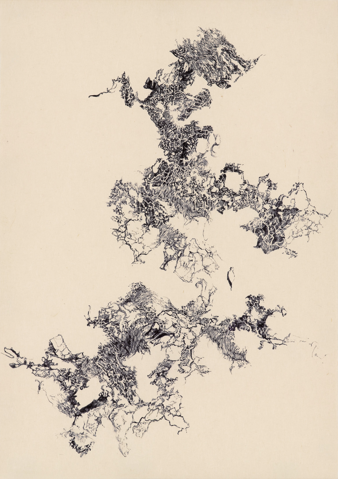 a moment of truth 10, ball pen on paper, 21cm (height) x 29.7cm (width) (A4 size), 2012