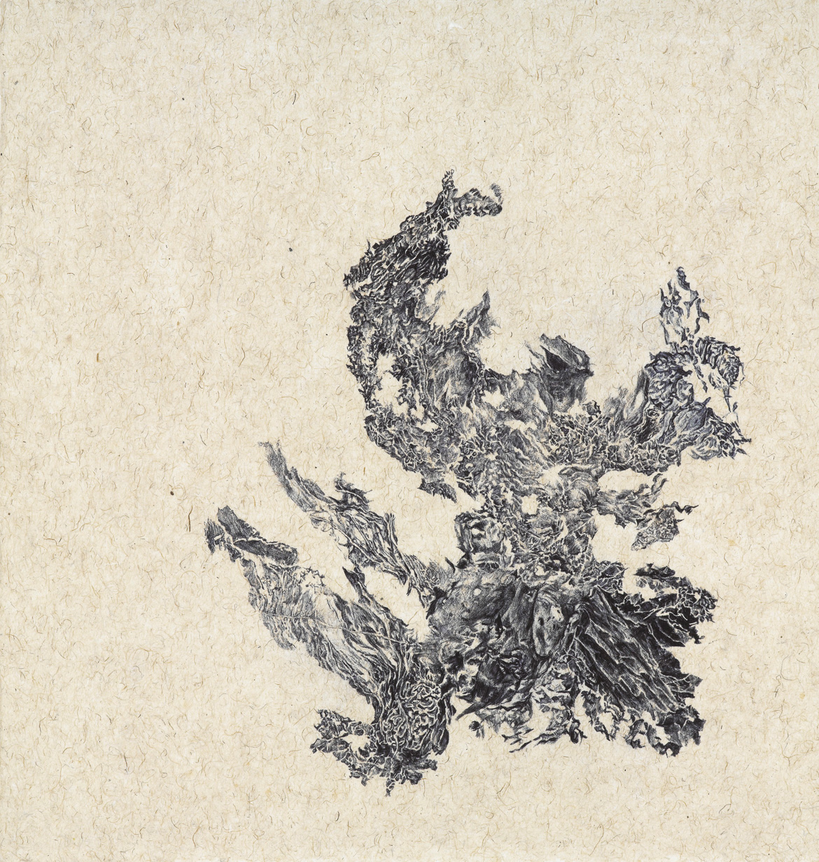 a moment of truth 14, ball pen on paper, 14 inches (width) x 14 inches (height), 2013