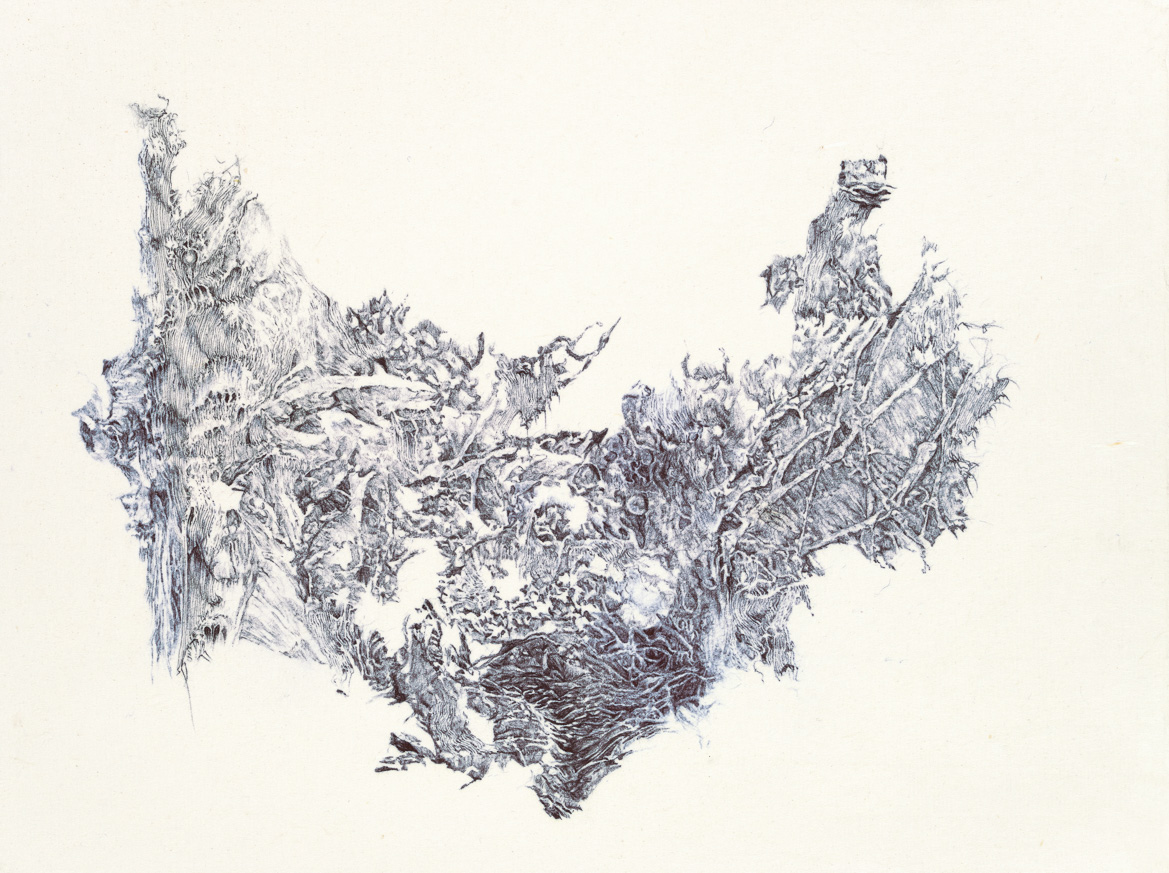 a moment of truth 26, ball pen on paper, 33cm (height) x 25cm (width), 2014