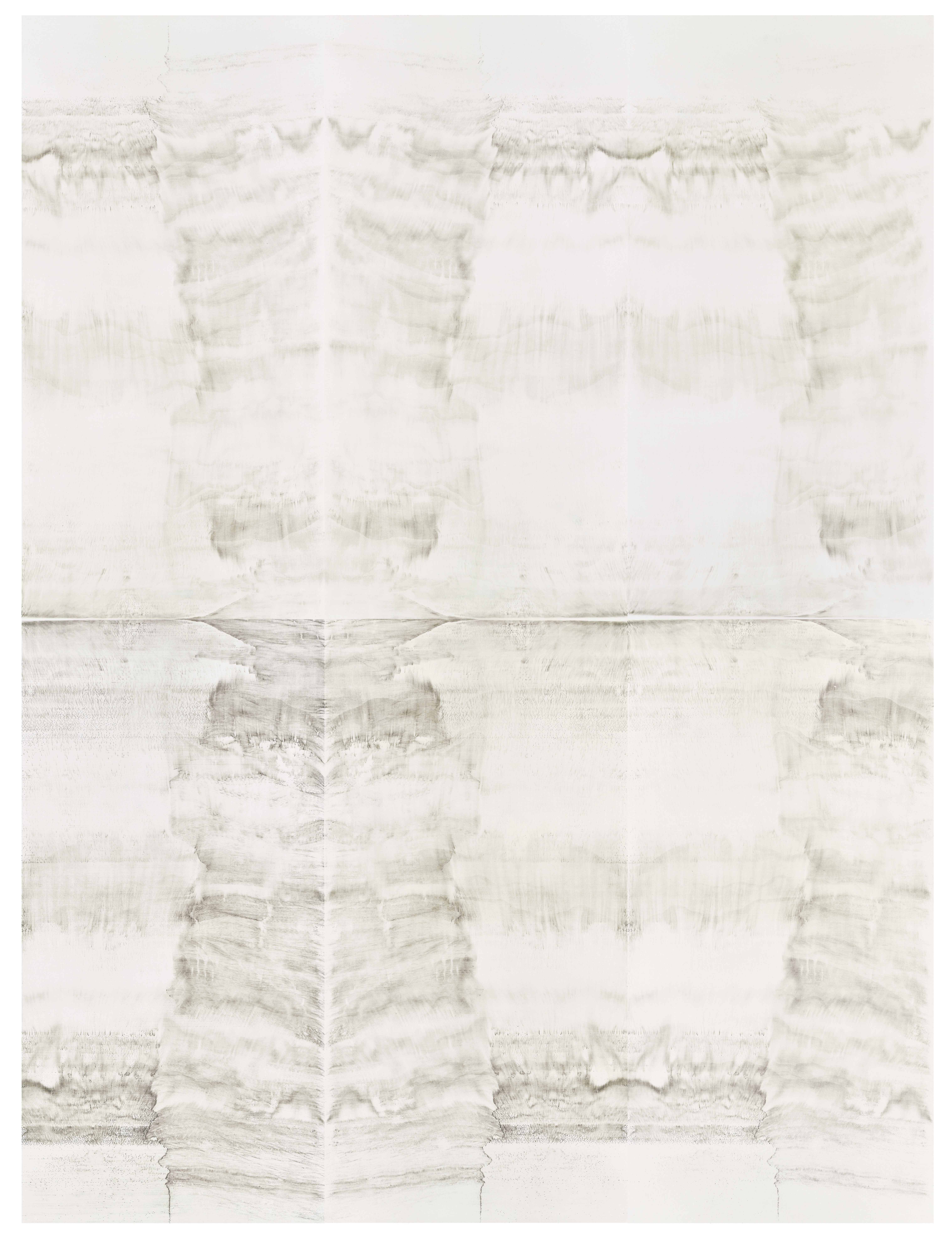 Hung Fai and Wai Pong Yu, Same Line Twice 2 (ii), 205.8 cm (width) x 274.4 cm (height), pigmented ink on paper, 2016